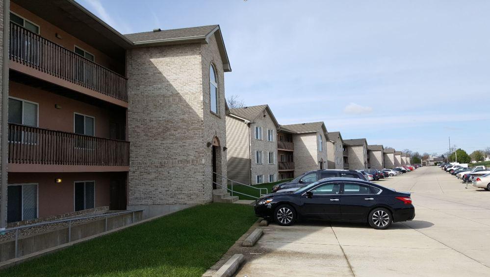 Exterior View - Applegate Apartments, Swansea, Illinois - Compressed